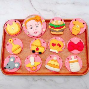 寶寶人像收涎餅乾