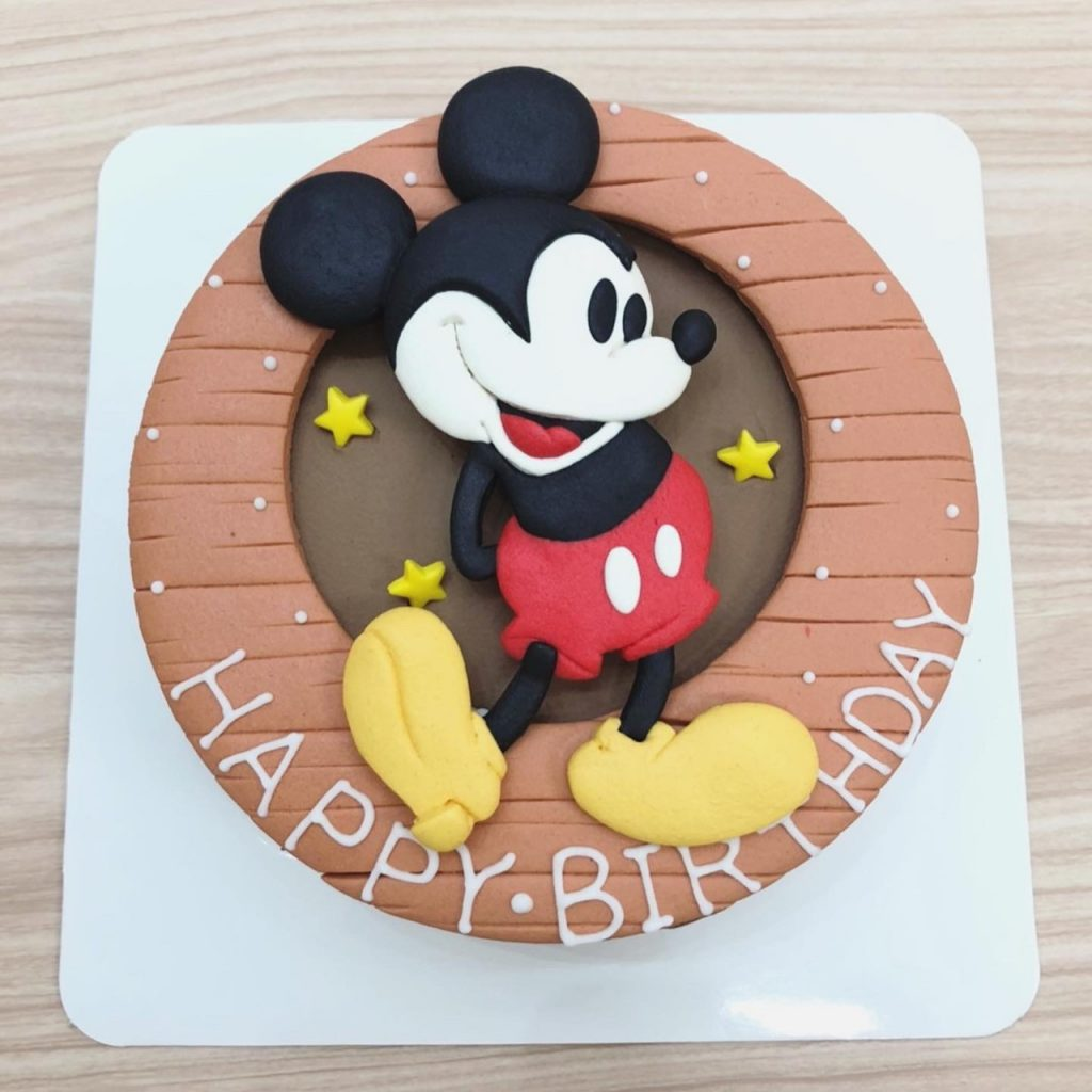 迪士尼米老鼠生日蛋糕推薦