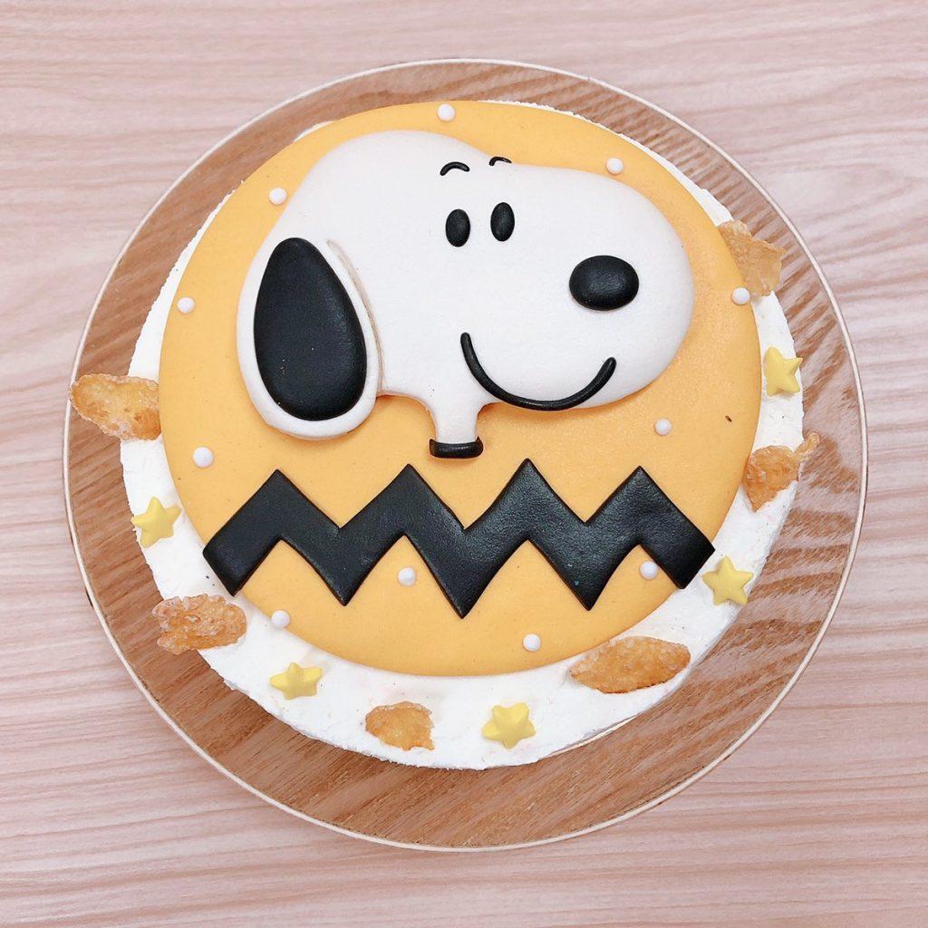 史努比Snoopy卡通造型蛋糕,客製化生日蛋糕推薦必買