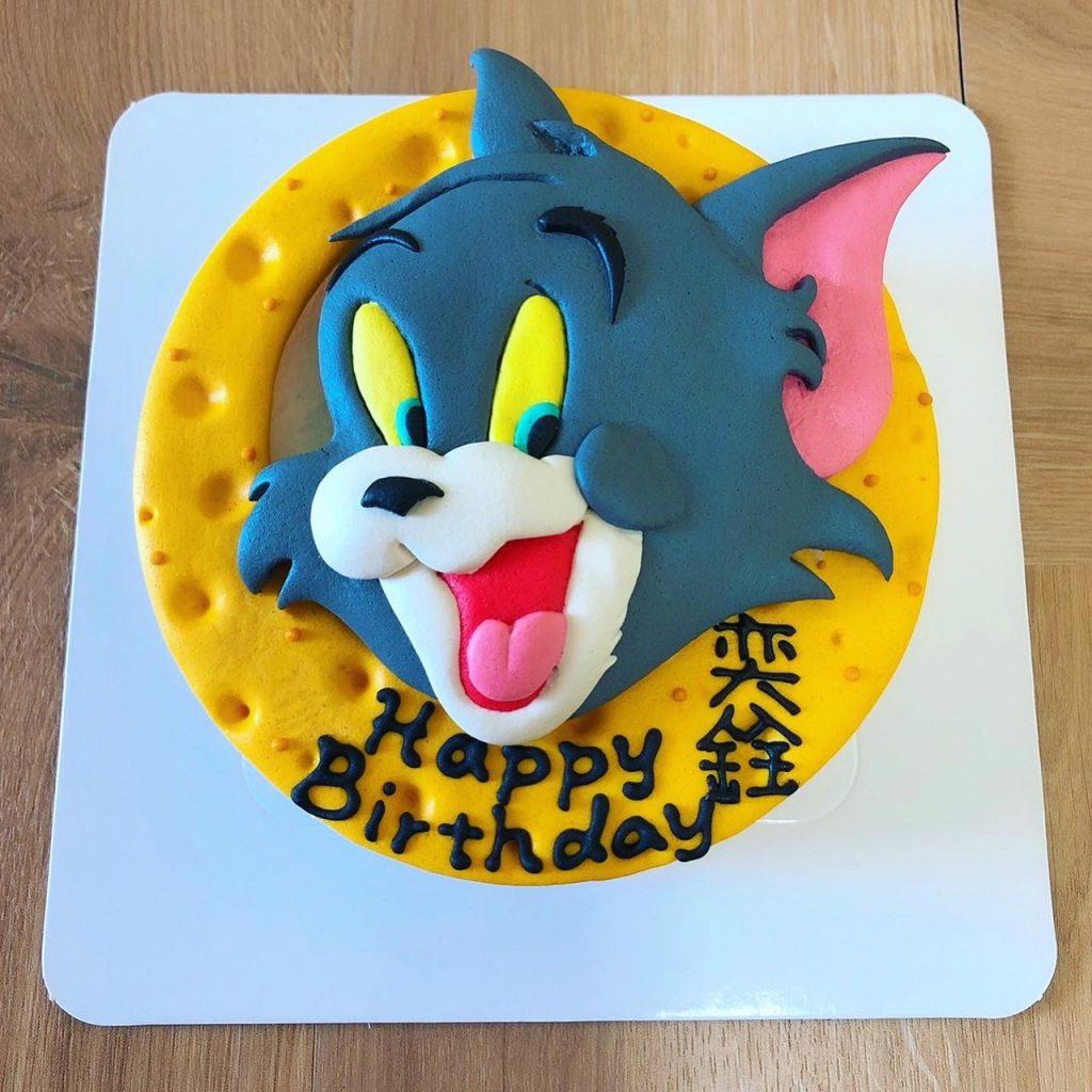 湯姆貓與傑利鼠卡通造型蛋糕,最可愛的客製化生日蛋糕推薦