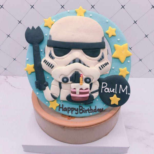 台北生日蛋糕推薦,【星際大戰】白兵客製化造型蛋糕