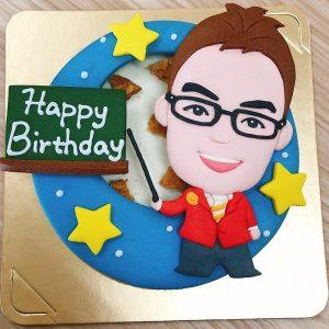 Q版人像客製化造型蛋糕,獨一無二的生日蛋糕推薦