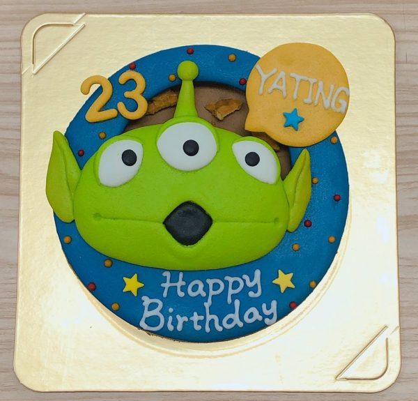 玩具總動員生日蛋糕,客製化三眼怪造型蛋糕推薦