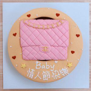 2020情人節蛋糕推薦,CHANEL名牌包客製化造型生日蛋糕