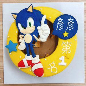 2020電影音速小子,音速小子客製化造型生日蛋糕推薦