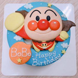 小孩大人都愛的麵包超人客製化卡通造型蛋糕來囉,一起跟果醬爺爺製作麵包超人生日蛋糕吧