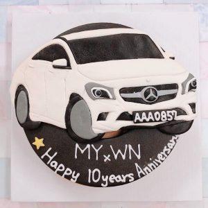 2020情人節蛋糕推薦,賓士汽車客製化造型生日蛋糕