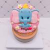 台北客製化迪士尼蛋糕推薦,超可愛Dumbo小飛象造型生日蛋糕唷~
