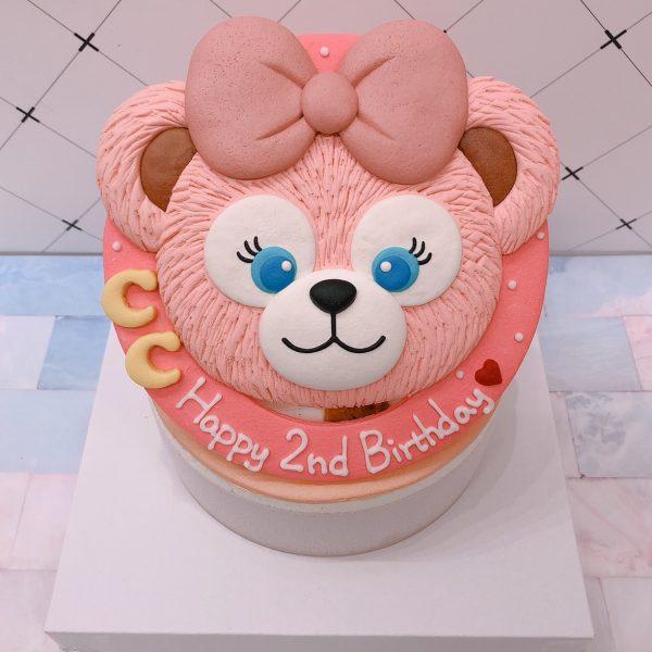 Duffy and friends生日蛋糕,客製化雪莉玫造型蛋糕推薦唷~