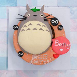 台北宮崎駿系列客製化蛋糕推薦,Totoro龍貓卡通造型蛋糕