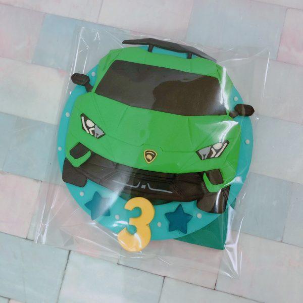台北蛋糕客製化生日蛋糕推薦,藍寶堅尼汽車造型蛋糕登場