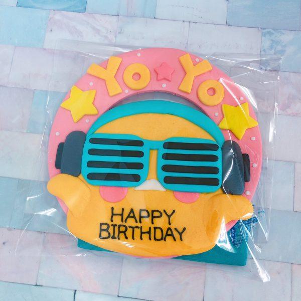 台北客製化生日蛋糕推薦,最慵懶蛋黃哥造型蛋糕