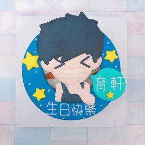 Q版卡通人物客製化蛋糕宅配,生日造型蛋糕推薦