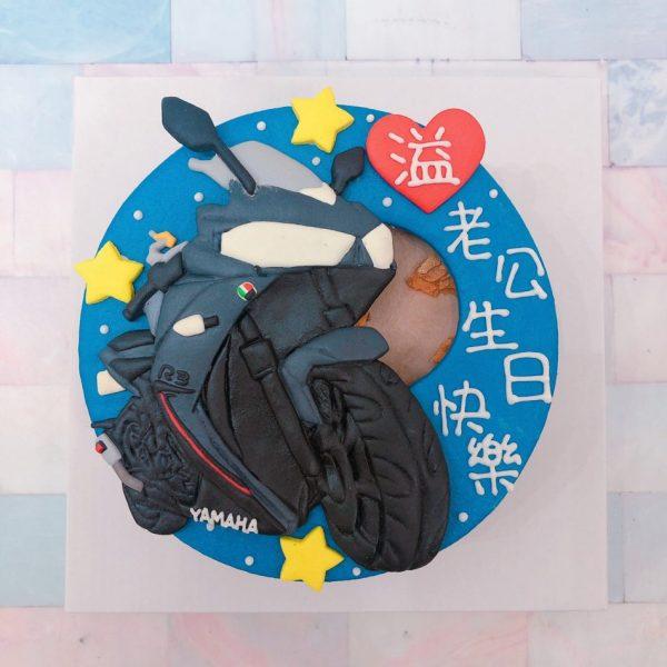 台北蛋糕客製化生日蛋糕推薦,Q版重機造型蛋糕