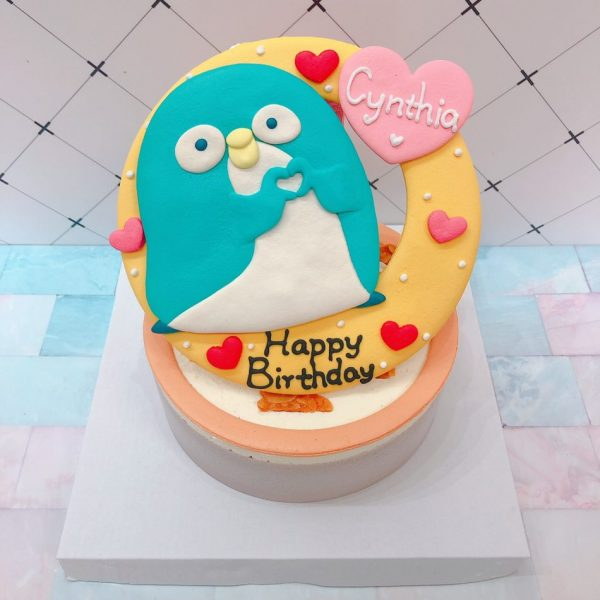 企鵝客製化生日蛋糕宅配推薦,小小企鵝造型蛋糕