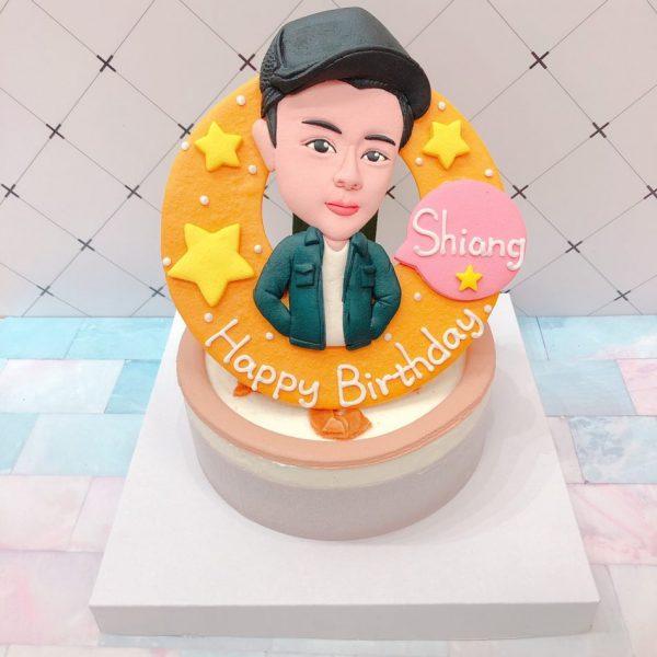 台北客製化蛋糕推薦,Q版人像造型生日蛋糕