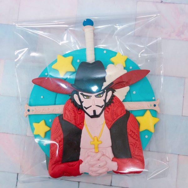 海賊王客製化宅配生日蛋糕推薦,鷹眼造型蛋糕推薦