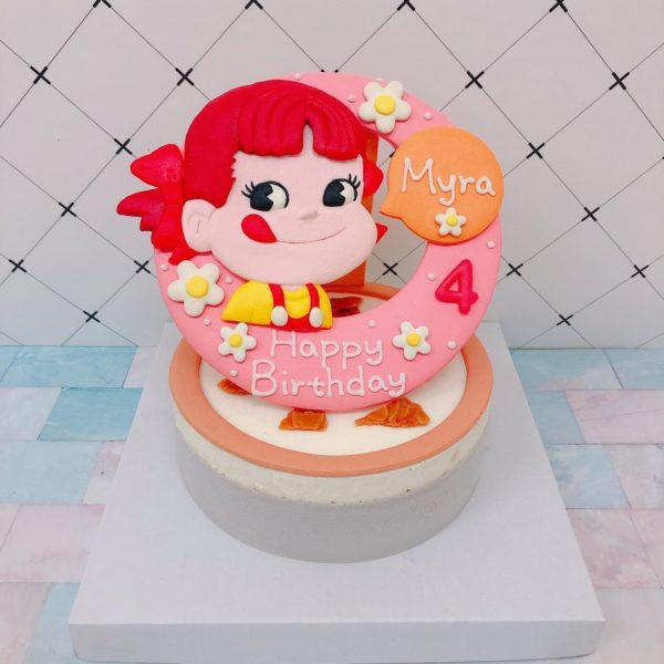 牛奶妹客製化生日蛋糕宅配推薦,可愛的PACO醬造型蛋糕