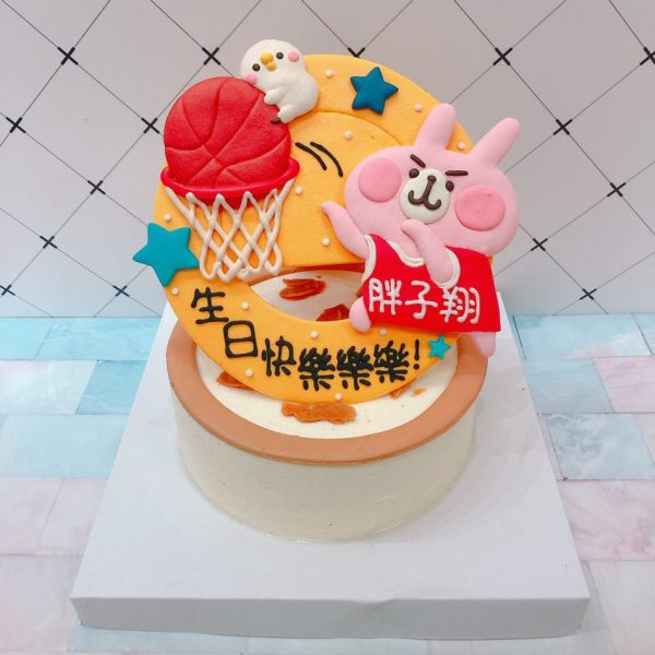卡娜赫拉造型蛋糕推薦,粉紅兔兔生日蛋糕宅配
