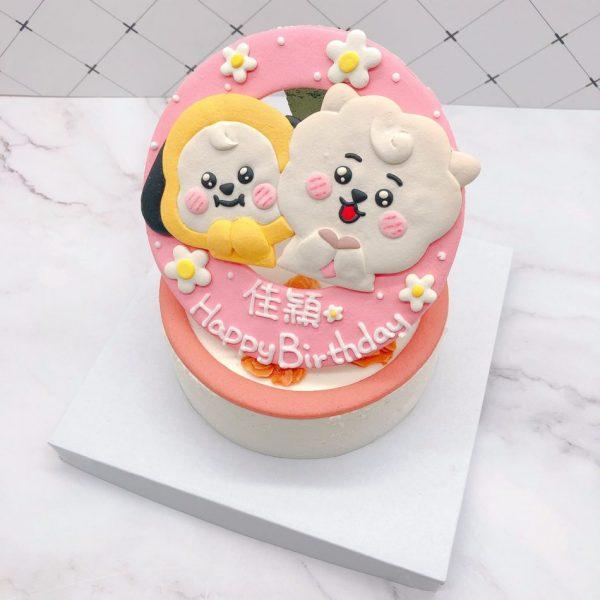 BTS防彈少年團客製化造型蛋糕來囉!