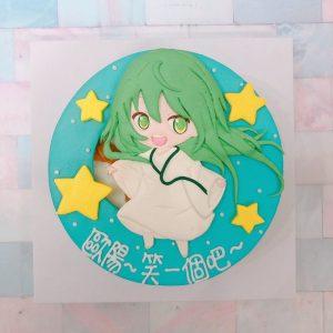 客製化宅配fate造型蛋糕推薦,恩奇都卡通生日蛋糕