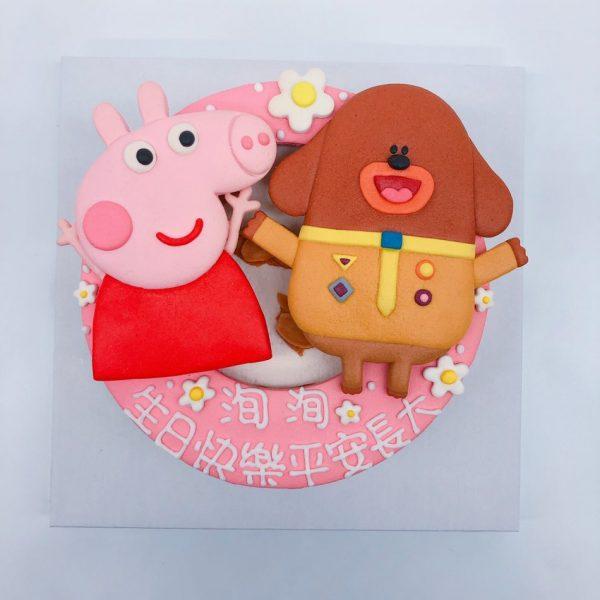 佩佩豬生日蛋糕推薦,阿奇幼幼園造型蛋糕宅配
