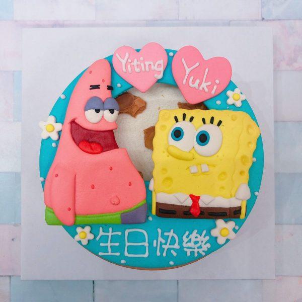 海綿寶寶生日蛋糕推薦