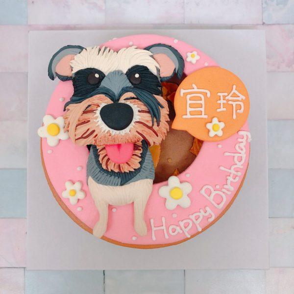 超可愛雪納瑞造型蛋糕推薦