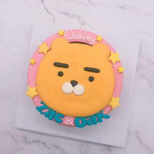 Ryan生日蛋糕訂購,萊恩獅客製化造型蛋糕推薦