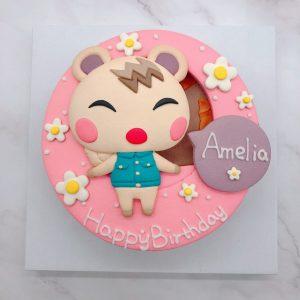 台北小潤造型蛋糕推薦,動物森友會生日蛋糕推薦