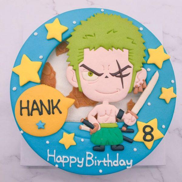 索隆客製化造型蛋糕推薦,海賊王生日蛋糕推薦