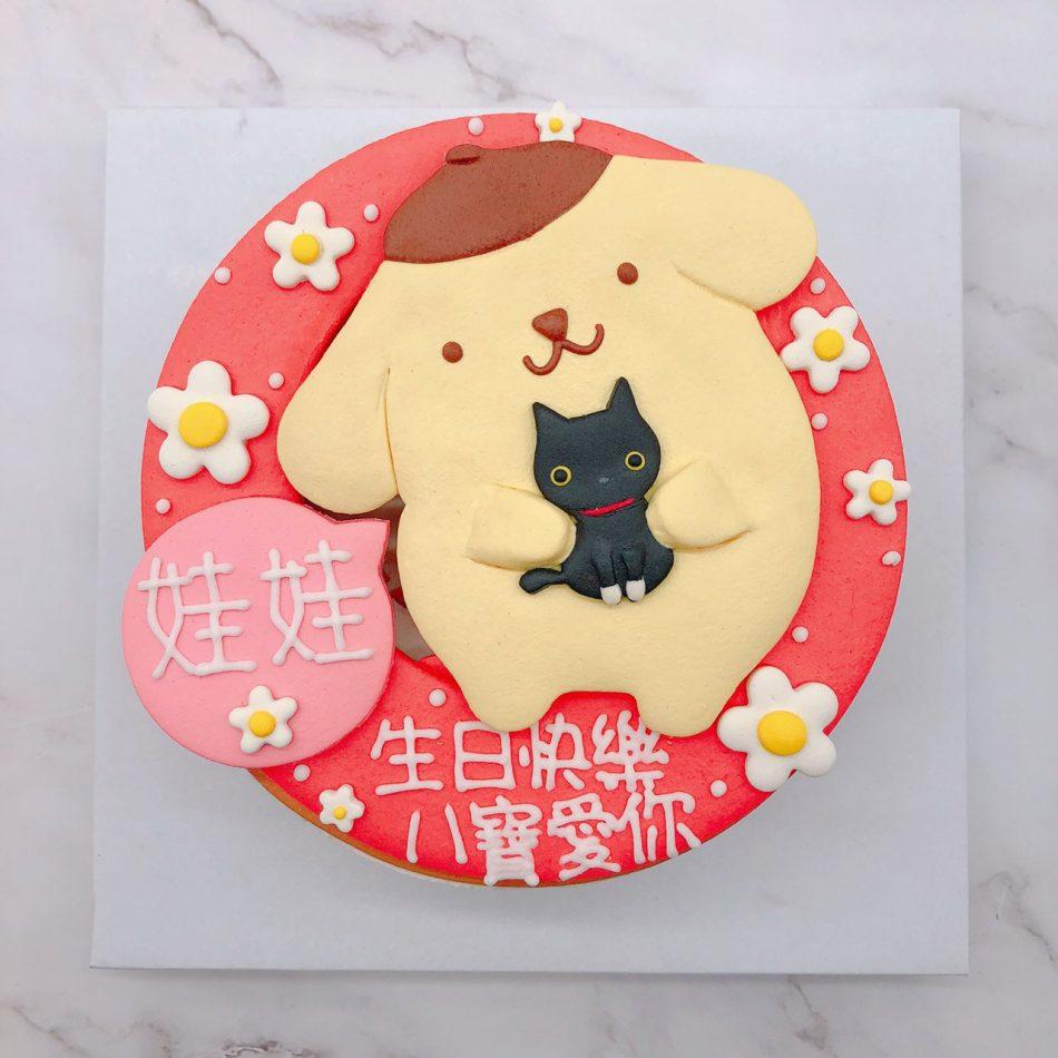 布丁狗造型蛋糕手作推薦