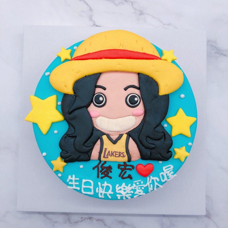 女生人像造型蛋糕推薦,2020年生日蛋糕宅配訂購