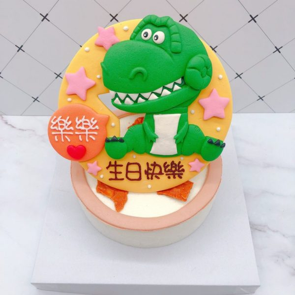 抱抱龍造型蛋糕推薦,玩具總動員生日蛋糕宅配