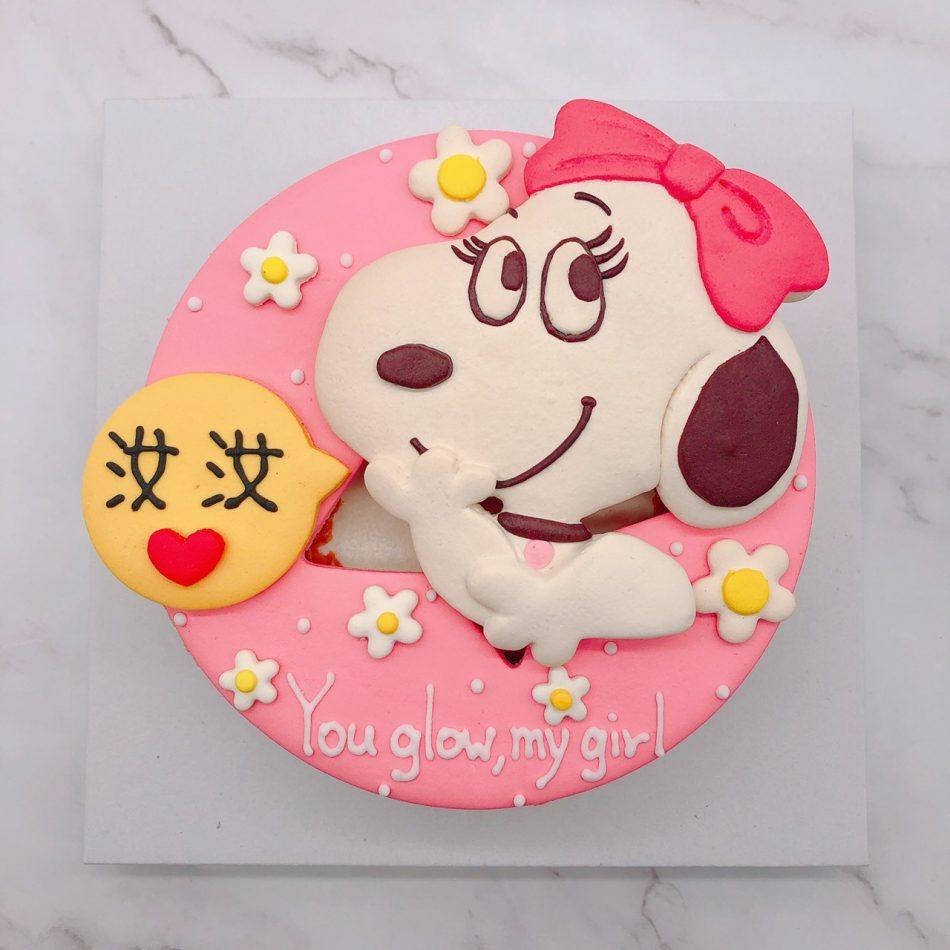 史努比生日蛋糕推薦,花生漫畫造型蛋糕宅配