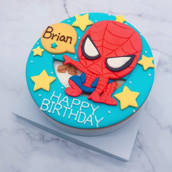 蜘蛛人生日蛋糕推薦