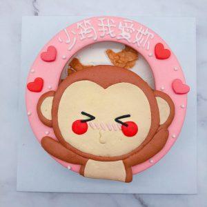 小猴子造型蛋糕推薦