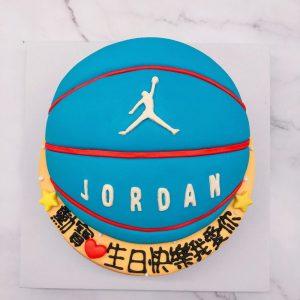 籃球造型蛋糕推薦,JORDAN籃球生日造型蛋糕宅配