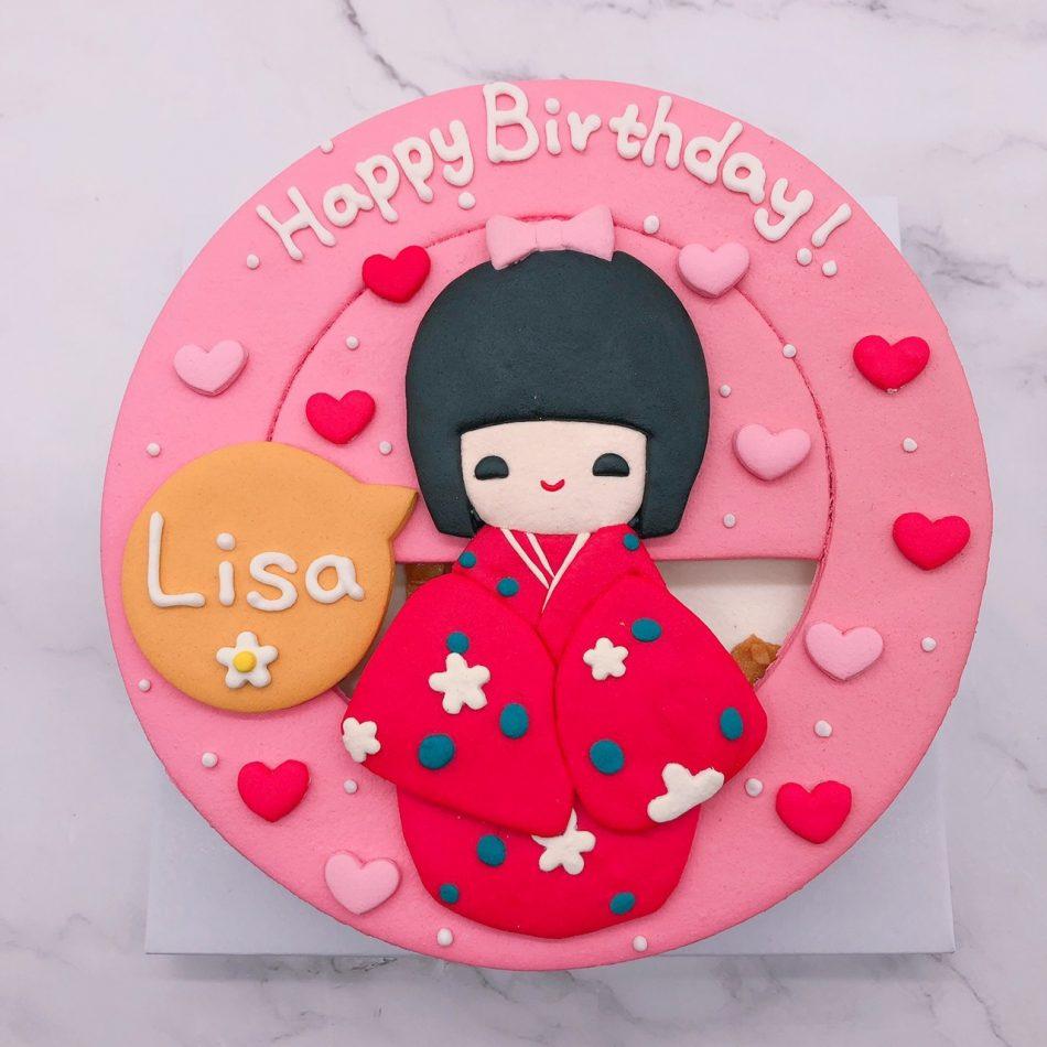 日本娃娃造型蛋糕推薦,台北生日蛋糕宅配