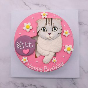 貓咪造型蛋糕推薦,寵物生日蛋糕宅配訂購
