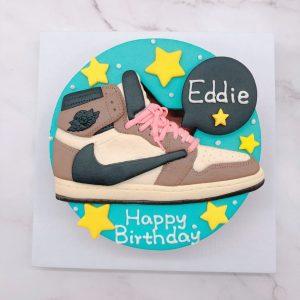 NIKE球鞋生日蛋糕推薦,鞋子客製化造型蛋糕宅配