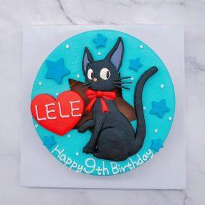 魔女宅急便造型蛋糕推薦,黑貓生日蛋糕宅配訂購