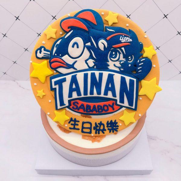 統一獅造型蛋糕推薦,魚頭君生日蛋糕推薦