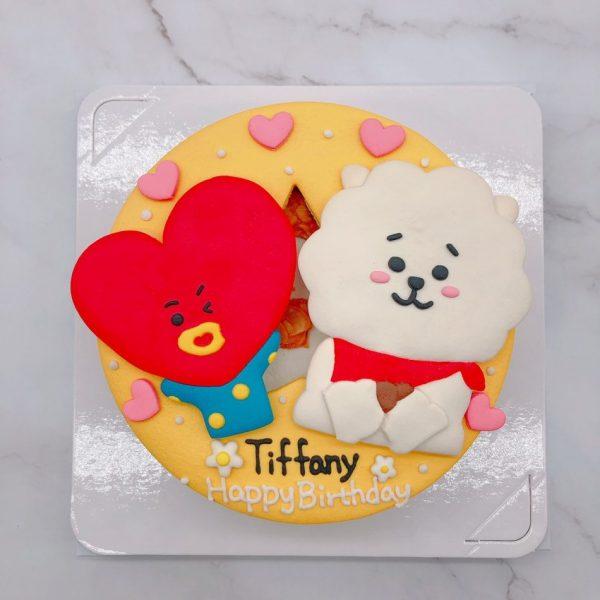 BT21羊駝生日蛋糕推薦,TATA客製化造型蛋糕宅配