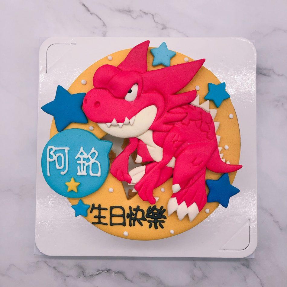 恐龍造型蛋糕推薦,台北恐龍生日蛋糕宅配