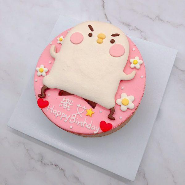 卡娜赫拉造型蛋糕推薦,P助生日蛋糕作品分享