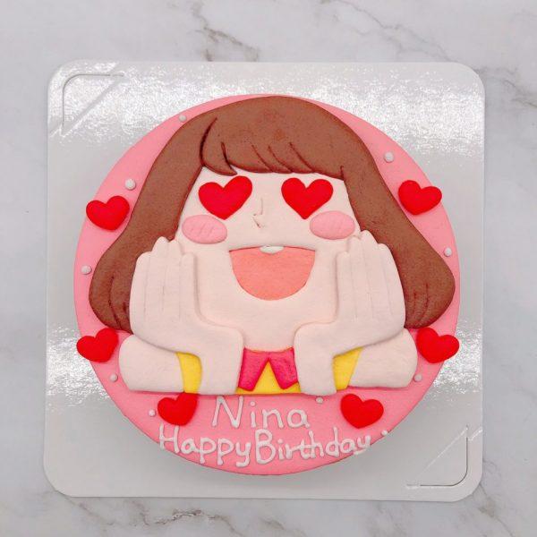 2020年生日蛋糕手作,客製化造型蛋糕作品分享