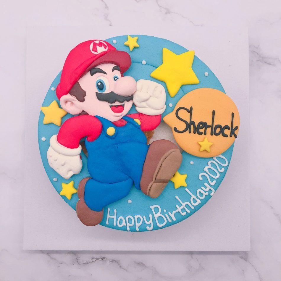 瑪莉歐生日蛋糕推薦,任天堂馬力歐造型客製化蛋糕作品