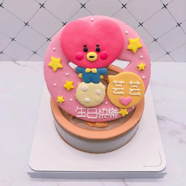 BT21生日蛋糕推薦,TATA客製化造型蛋糕宅配 !