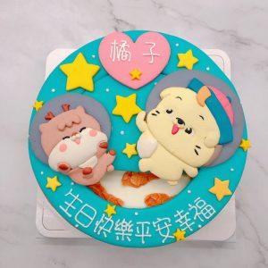 台北客製化造型蛋糕手作推薦,貼圖生日蛋糕作品分享